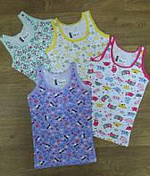 Детская майка для девочки Турция, детская турецкая одежда от производителя, турецкий трикотаж, интерлок