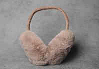 Наушники с натуральным мехом, фото 1