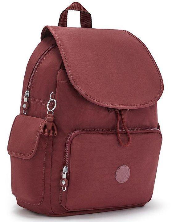 Рюкзак для города Kipling 16л бордовый