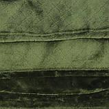 Покрывало однотонное тонкое 210x230см микрофибра, плед искусственный, фото 2