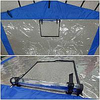 Защитная прозрачная стенка для палатки торговой 2х2м