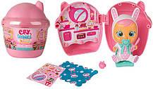 Ігровий набір лялька пупс-сюрприз плаче малюк плакса в будиночку Cry Babies Magic Tears Bottle House