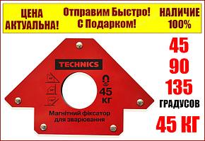 Струбцина магнітна Richmann для зварювання до 25 кг (Польща)