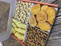 Орехово-фруктовая коробочка ГРУША-ПЕРСИК, 640 г