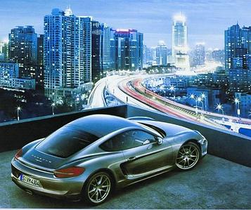 Картина по номерам 40х50 см DIY Porsche (NX 9216)