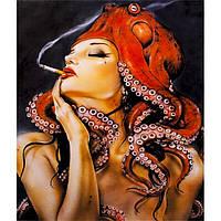 Картина по номерам 40х50 см DIY Осьминог Фэнтези Арт (FX 30439)