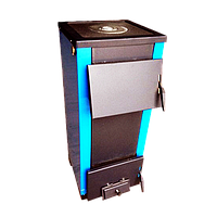 Твердотопливный котел ОГОНЕК КОТВ-20П с варочной поверхностью (плитой)