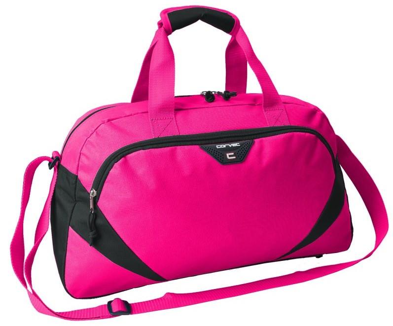 Женская сумка для фитнес клуба 24L Corvet розовая