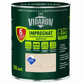 Импрегнат защитный декоративный для защиты древесины V17 Vidaron ВЫБЕЛЕНЫЙ ДУБ 0,7