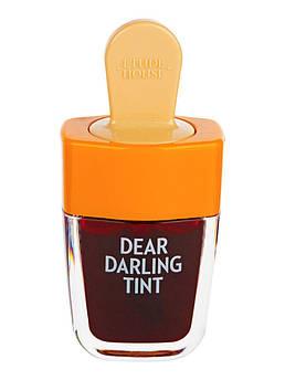 Тинт для губ ETUDE HOUSE Dear Darling Water Gel Tint Ice Cream тон  #OR207
