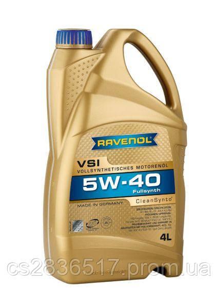 Моторное масло RAVENOL VSI 5W40 4L