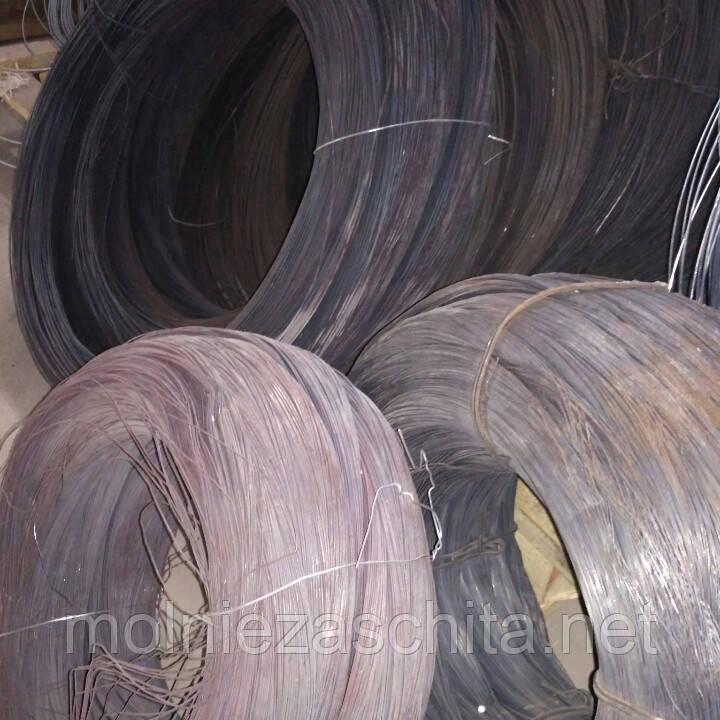 Дріт сталевий термічно необроблений 4 мм