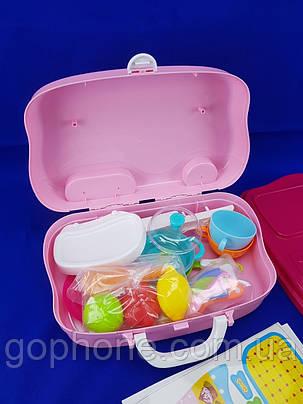 Детский чемоданчик для ребёнка (Кухня) Happy Chef для игры, фото 2