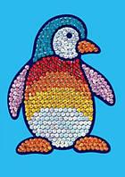 """Мозаика из блесток """"Пингвин"""" арт.0902 KSG"""