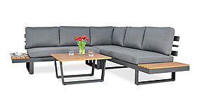 Комплект для тераси MILANO  CAFFE  248х248х72 grey