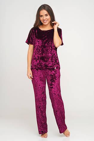 Женский  костюм тройка шорты, штаны и футболка TM Orli, фото 2