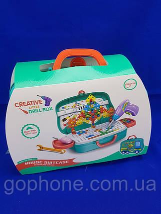 Детский чемоданчик Ремонт Creative Little Drill Box, фото 2