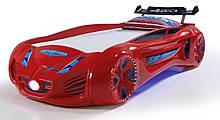 Кровать машинка Tesla Star краснаяТурция