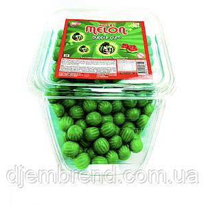Жевательная резинка со вкусом арбуза в пластиковом контейнере, 300 шт./упак.
