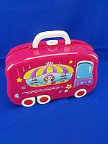 Набор для макияжа Happy Dresser детский с выдвижным чемоданчиком, фото 2