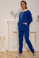 Спорт костюм женский 102R117 цвет Сине-белый