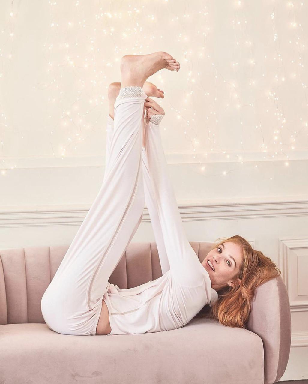 Нежная и уютная пижама Victoria's Secret (Виктория Сикрет)