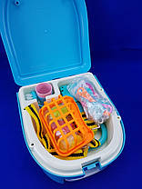 Игровой набор WASHING VEGETABLE BASIN Кухня в форме рюкзака, фото 2