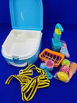 Игровой набор WASHING VEGETABLE BASIN Кухня в форме рюкзака, фото 3