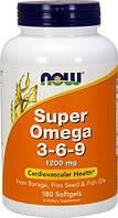 NOW Super Omega 3-6-9 1200mg 180sgels