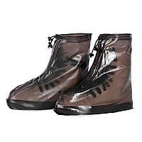 Резиновые чехлы-бахилы Lesko SB-101 Размер L на обувь Коричневые 3725-12165, КОД: 1625496