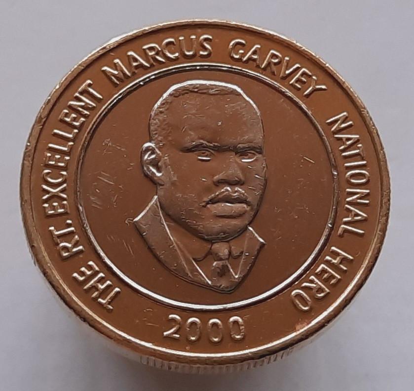 Ямайка 20 долларов 2000