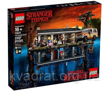 Lego Stranger Things The Upside Down Очень Странные Дела