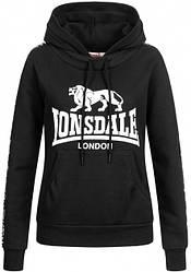 Женское худи Lonsdale 116010 Black