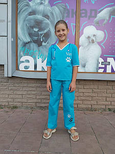 Детский костюм профессии Ветеринар р 110-128