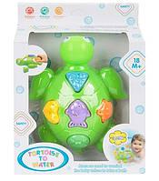 Игрушка для ванной Черепаха-сортер Развивающая игрушка для ребенка от 12 мес