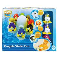 Набор для ванной Water Fun Пингвины 8шт Игрушка для купания ребенка