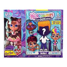 Набор-сюрприз Hairdorables мальчик и девочка Dee Dee | Набор 2 куклы He and She Хэрдораблс