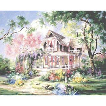 Картина за номерами 40х50 см DIY Вілла і сад (NX 9219)