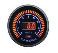 Дополнительный прибор Ket Gauge LED 96581 тахометр, вольтметр