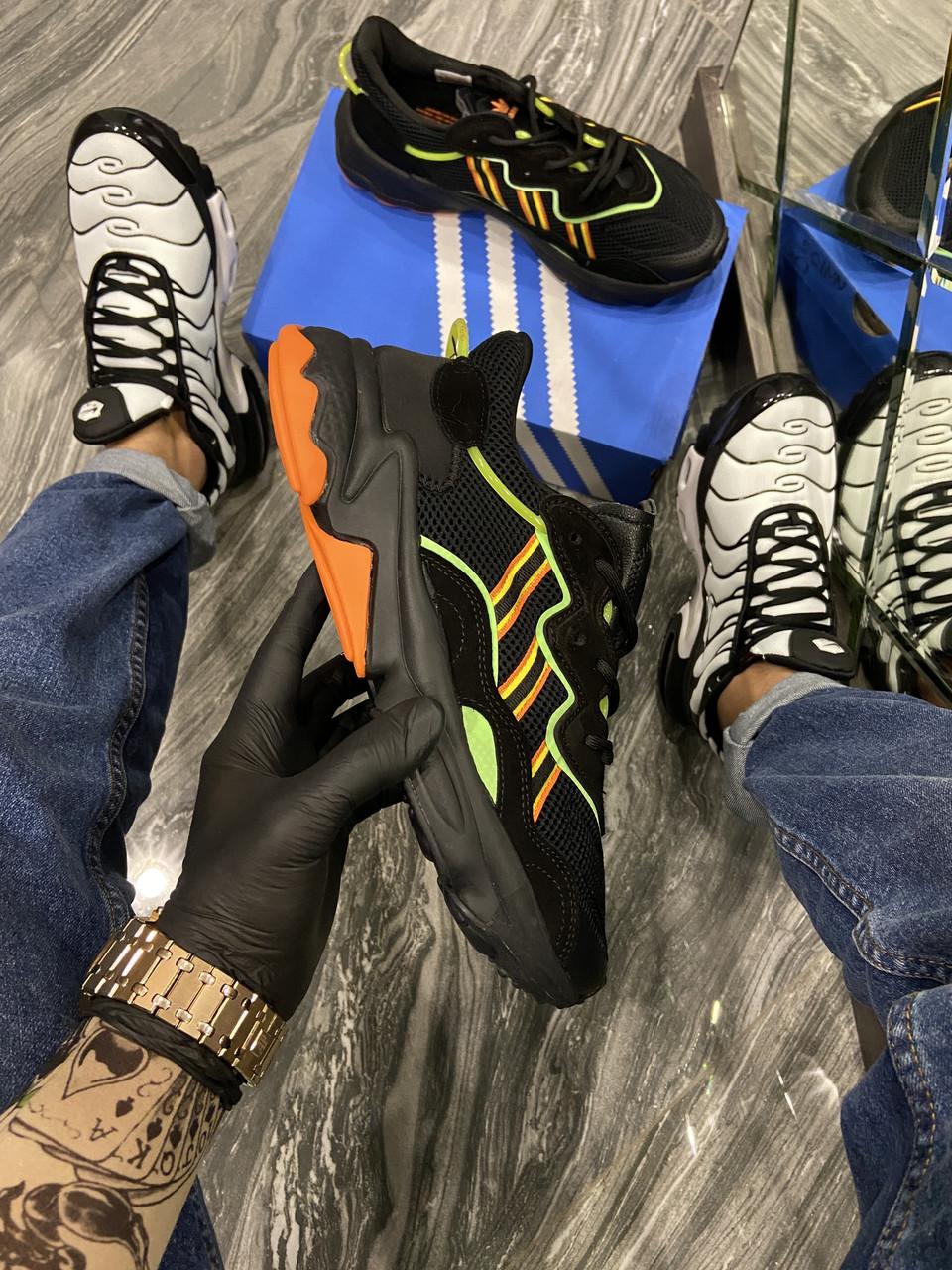 Ad!id@s, крос, обувь, взуття, sneakers, шузы, Ozweego Black (Чёрный)