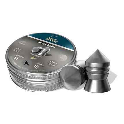 Пули пневм Haendler Natermann Silver Point, 500 шт/уп, 0,75 гр 4,5 мм, фото 2