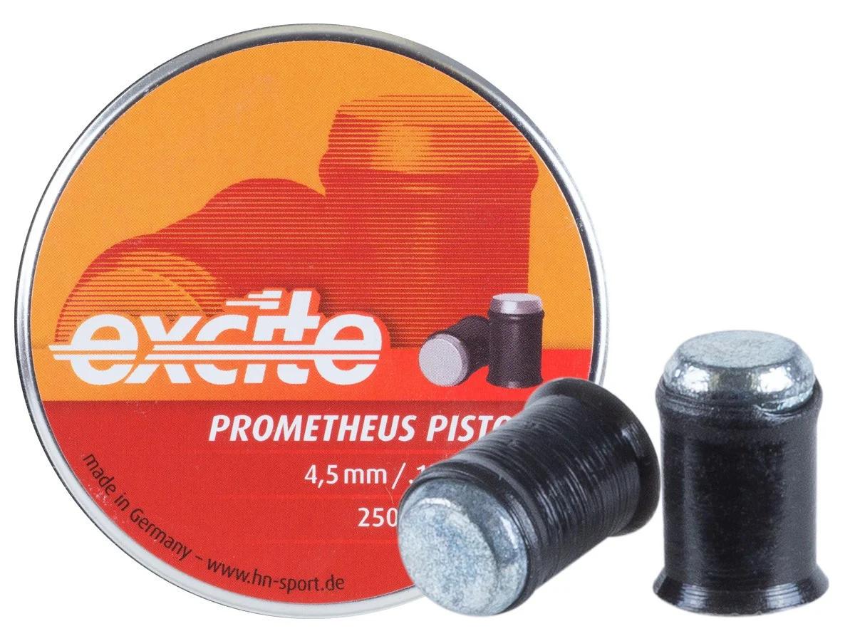 Кулі пневм Haendler Natermann Excite Prometheus, 250шт/уп, 0,39 г, 4,5 мм