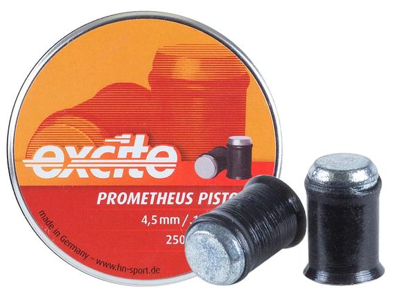 Кулі пневм Haendler Natermann Excite Prometheus, 250шт/уп, 0,39 г, 4,5 мм, фото 2
