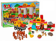 Детский конструктор Ферма 61 деталь Конструктор для ребенка Подарок для девочки Подарок для мальчика