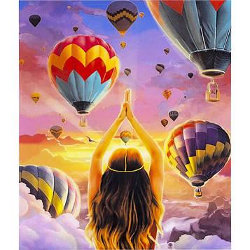 Картина за номерами 40х50 см DIY Повітряні кулі (FX 30338)