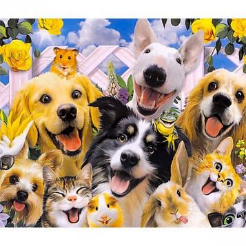Картина за номерами 40х50 см DIY Чарівні тваринні (FX 30340)
