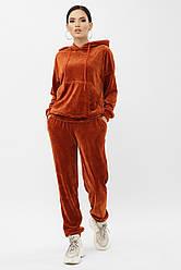 Жіночий теплий домашній костюм спортивний велюровий Юнона