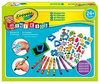 Набор для творчества Crayola Mini kids Мой первый набор со штампами 81-1359, КОД: 2443711