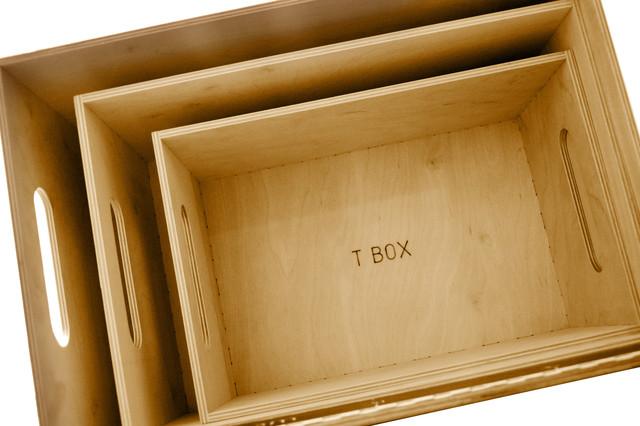 T BOX серія простих ящиків