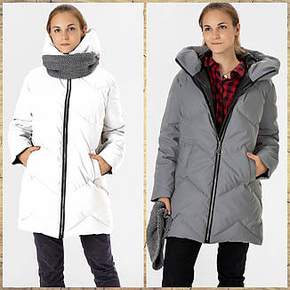 Зимняя куртка СВЕТООТРАЖАЮЩАЯ 140, фото 2